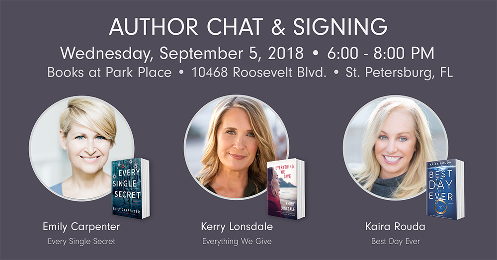 Author Chat & Signing