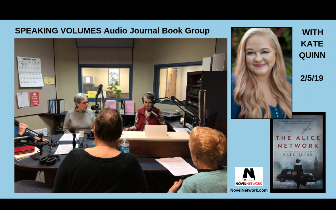 Speaking Volumes Audio Journal Book Group Chats With Kate Quinn