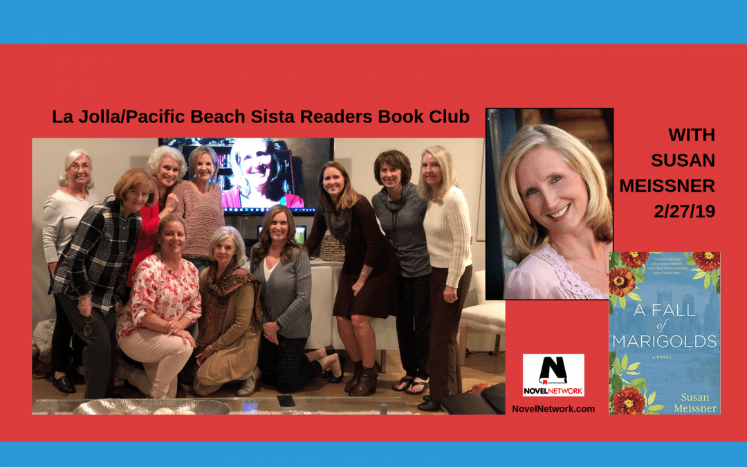 La Jolla/Pacific Beach Sista Readers Book Club Visits With Susan Meissner