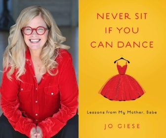 Sneak Peek – Never Sit if You Can Dance by Jo Giese