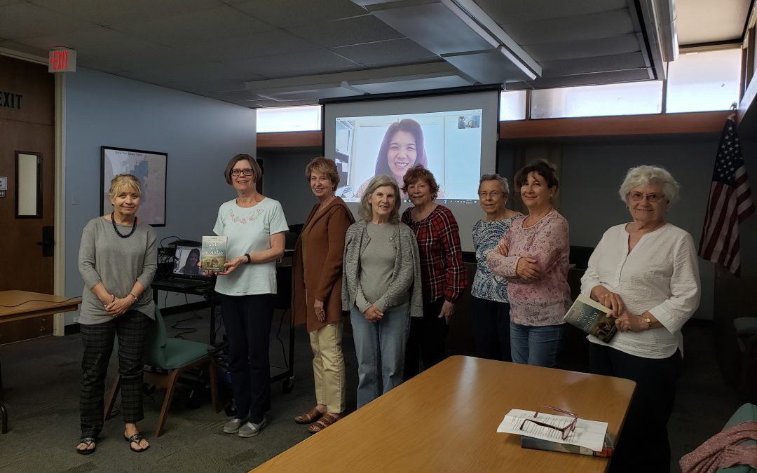 Buena Park Library Book Club Enjoys a Video Chat With Kristina McMorris
