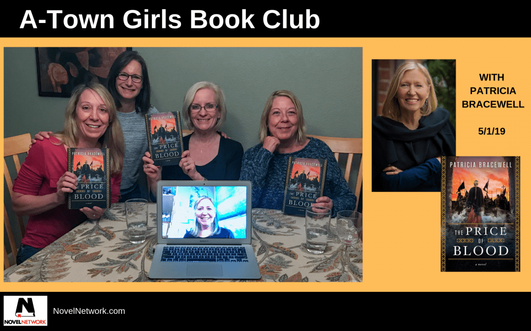 The A-Town Girls Book Club Enjoys a Virtual Visit With Patricia Bracewell