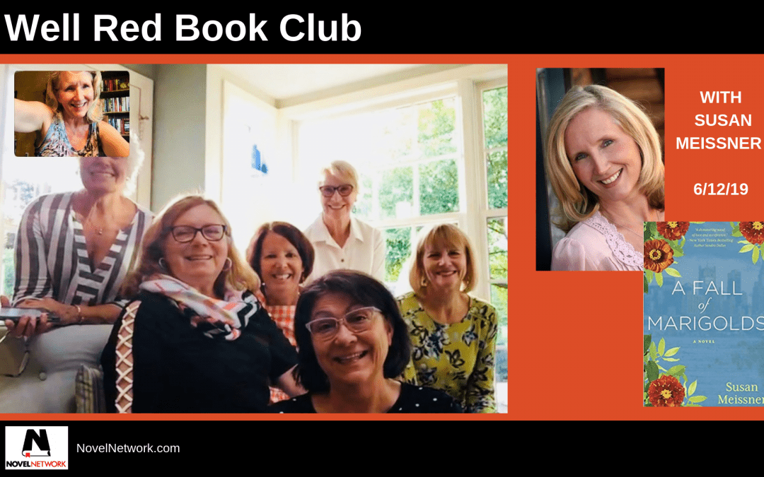 Well Red Book Club Visits With Susan Meissner