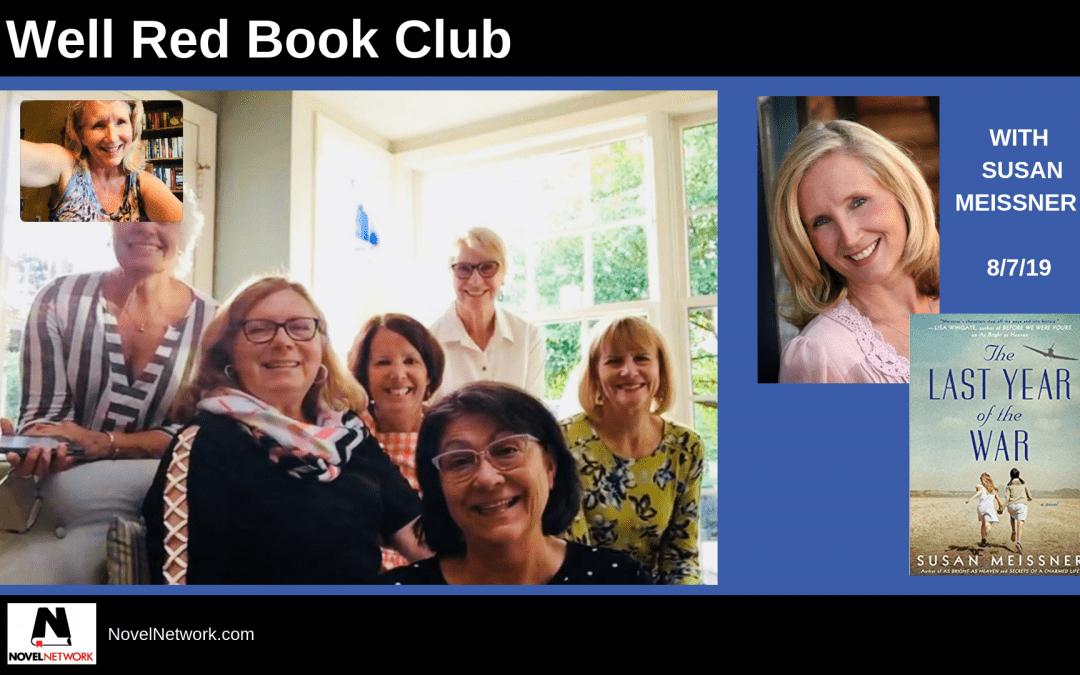 Well Red Book Club – Round 2 Visit with Susan Meissner