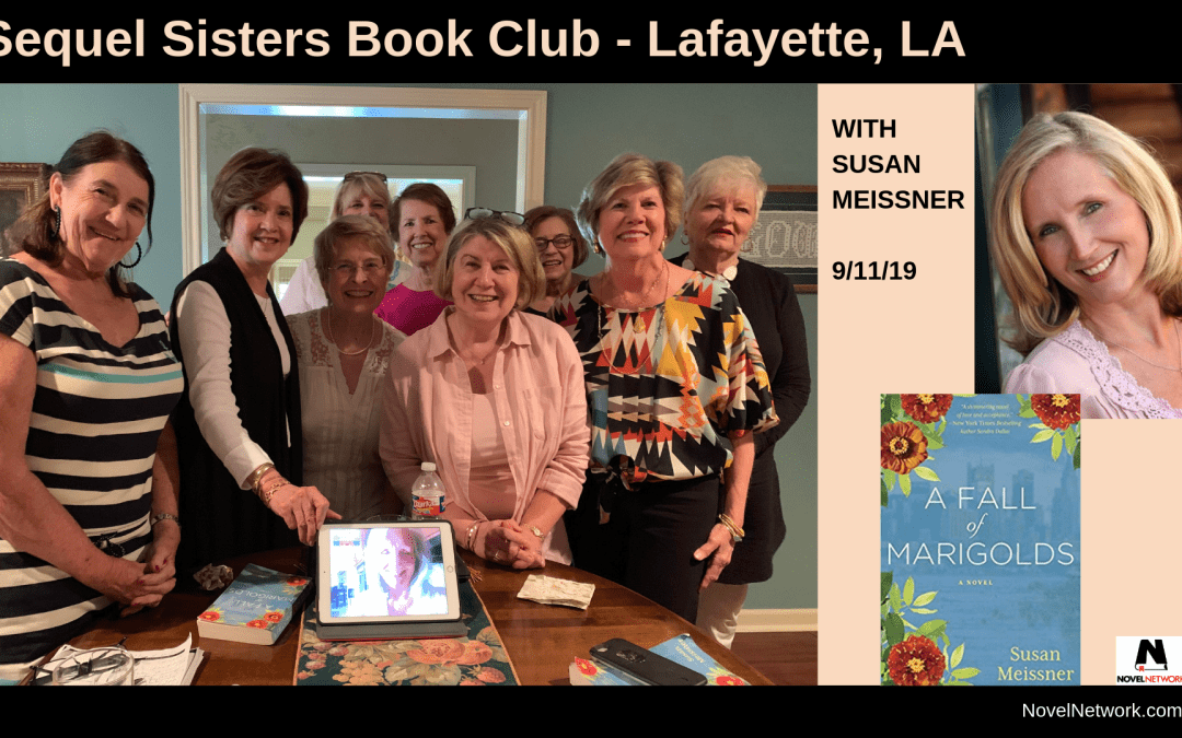 Sequel Sisters Book Club Visits With Susan Meissner
