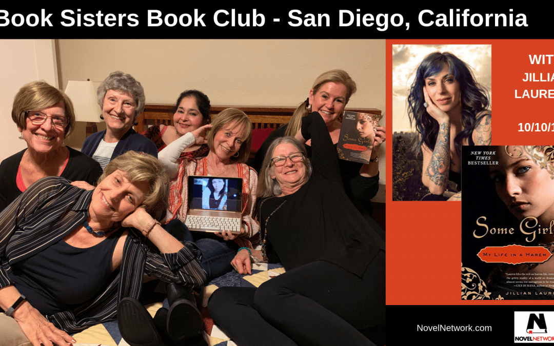 "Book Sisters Book Club ""Harem"" Connects with Jillian Lauren"