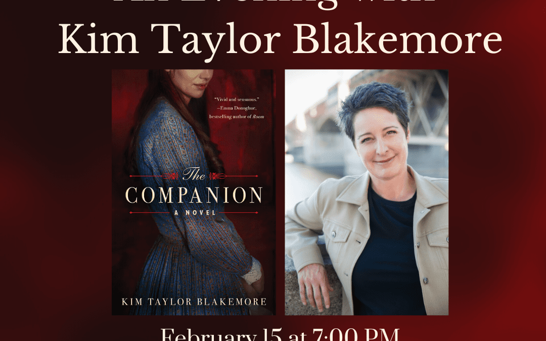Manzanita Writers Series Presents an Evening With Kim Taylor Blakemore