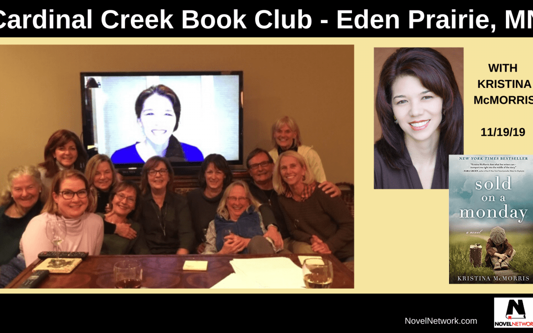 Cardinal Creek Book Club Welcomes Kristina McMorris