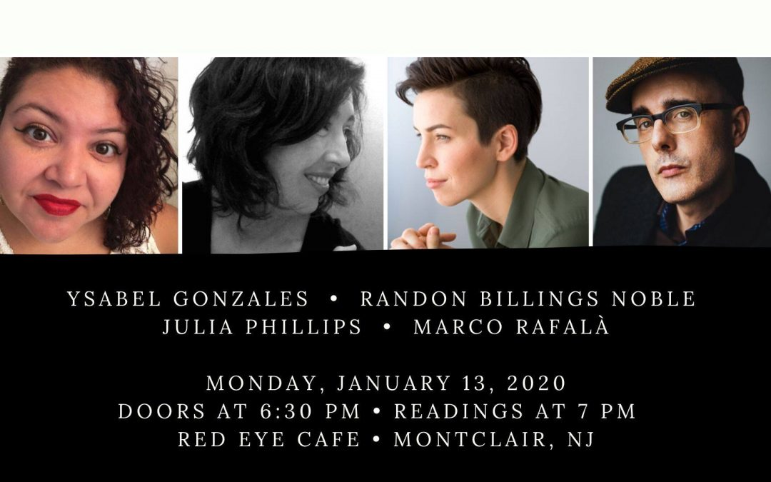 Halfway There: A Reading Series in Montclair, NJ – Featuring Marco Rafalà