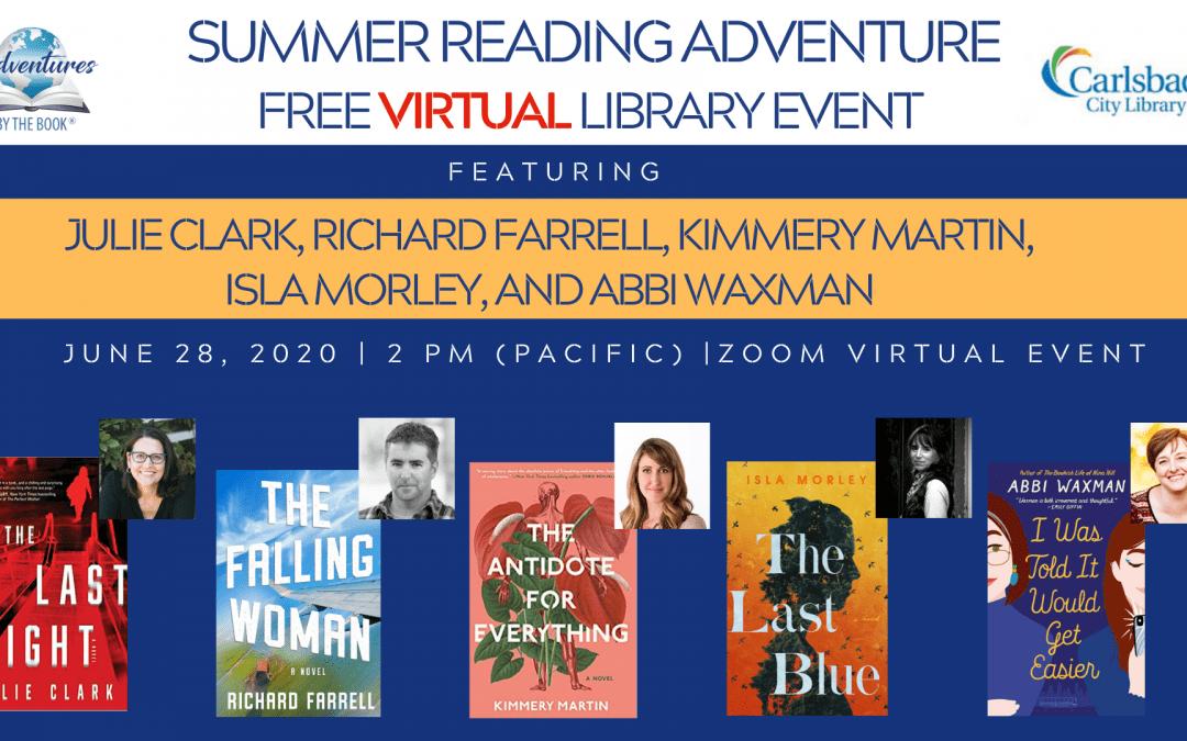 Summer Reading Adventure-Carlsbad (Virtual)