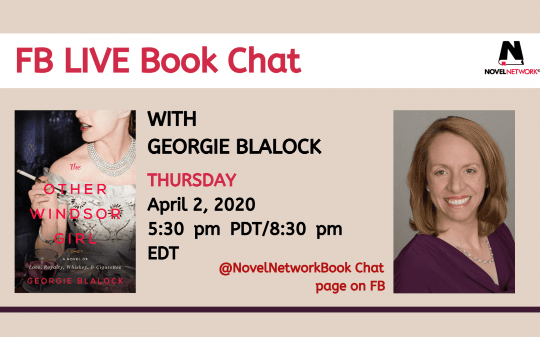 FB Live Book Chat With Georgie Blalock