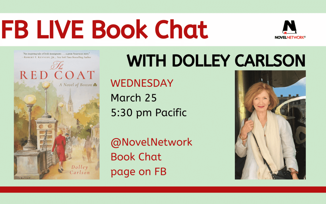 FB Live Book Chat With Dolley Carlson