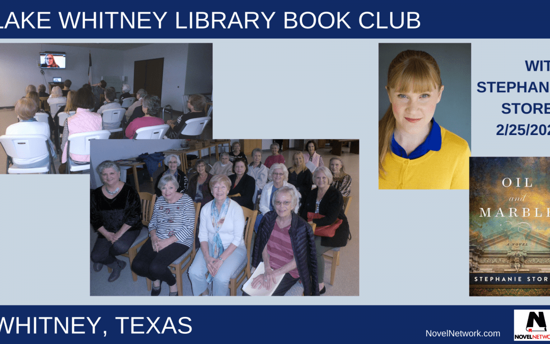 Lake Whitney (Texas) Library Book Club Impressed With Stephanie Storey