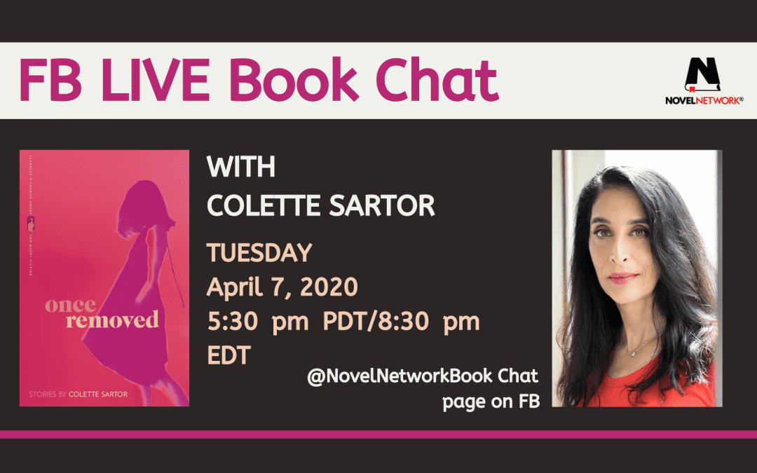 FB Live Book Chat With Colette Sartor