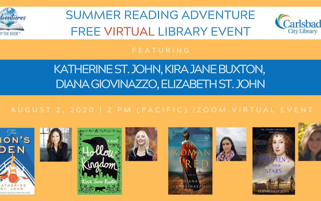 Summer Reading Adventure #3-Carlsbad (Virtual)