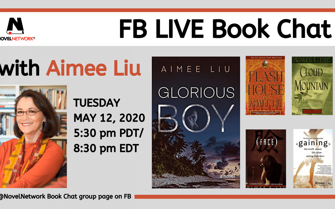 FB Live Book Chat With Aimee Liu