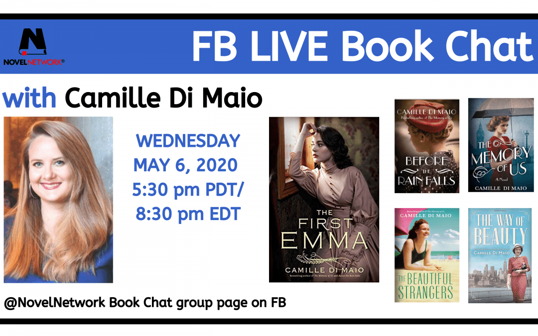 FB Live Book Chat With Camille Di Maio