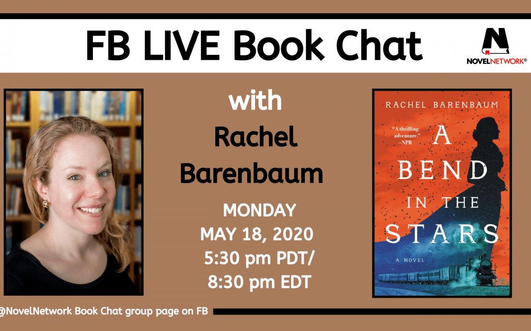 FB Live Book Chat With Rachel Barenbaum