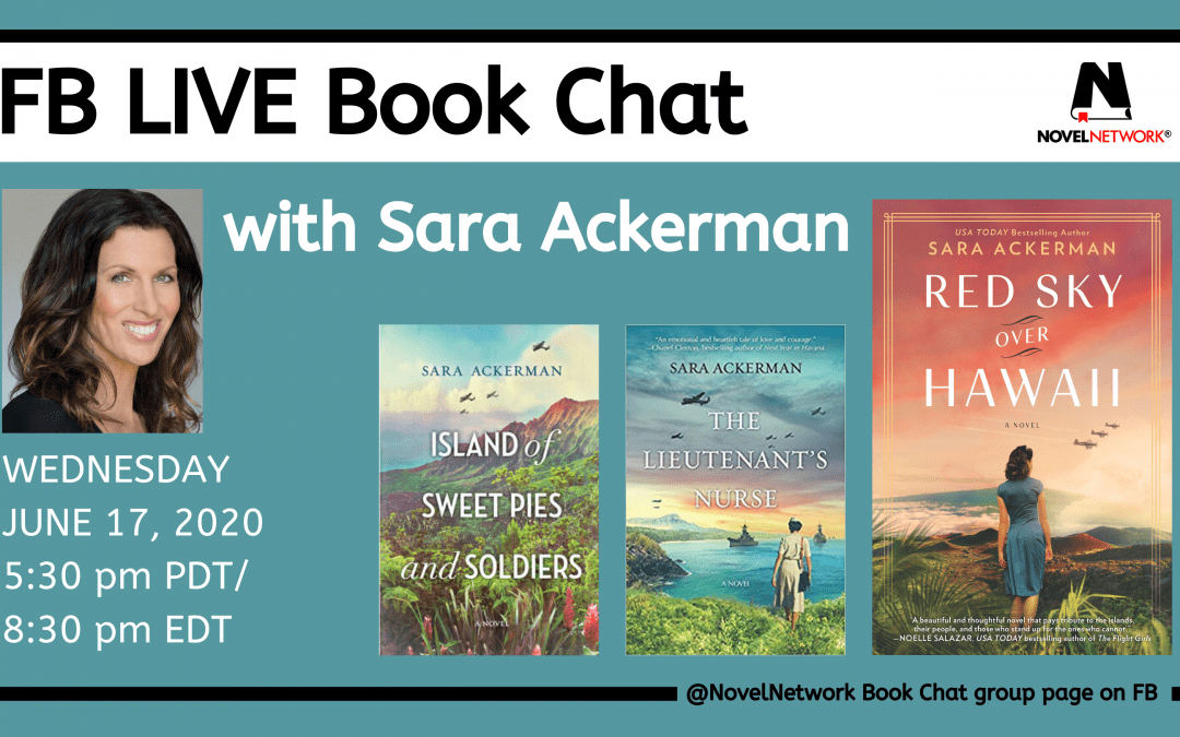 FB Live Book Chat With Sara Ackerman