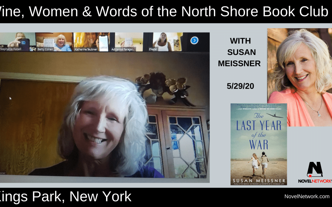 Susan Meissner Inspires the Wine, Women & Words of the North Shore Book Club