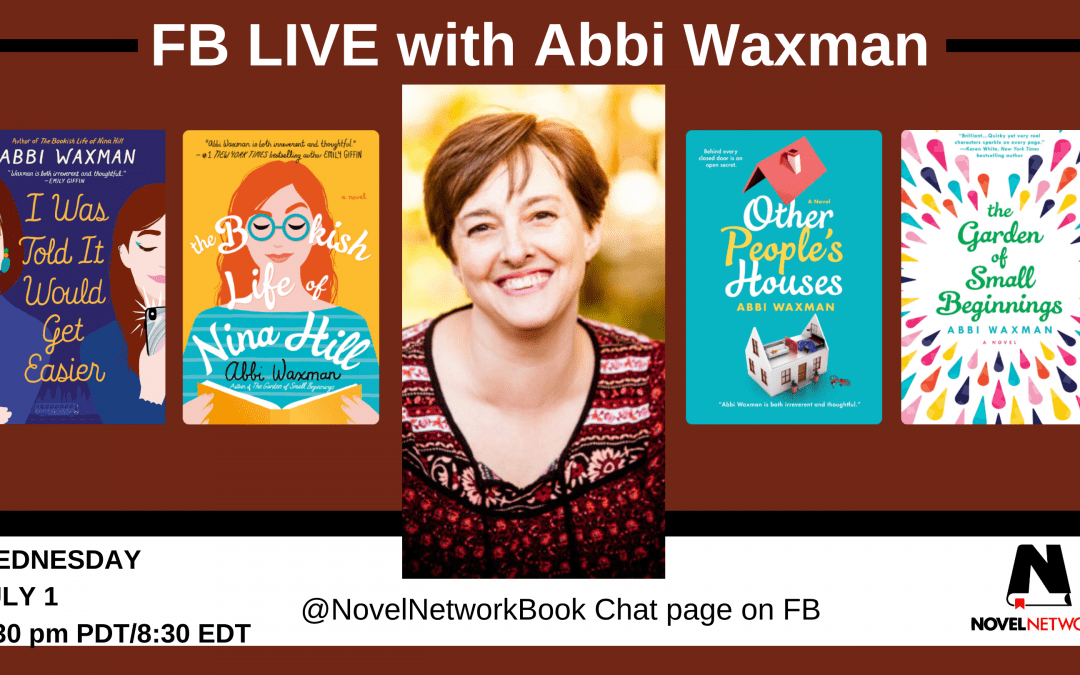 FB Live Book Chat With Abbi Waxman