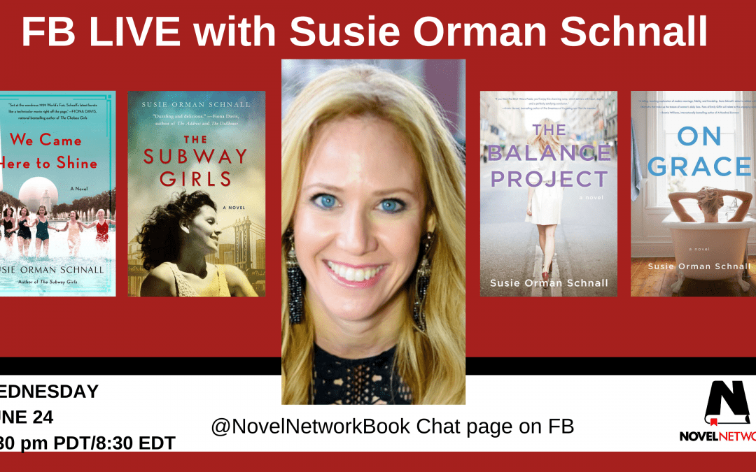 FB Live Book Chat With Susie Orman Schnall