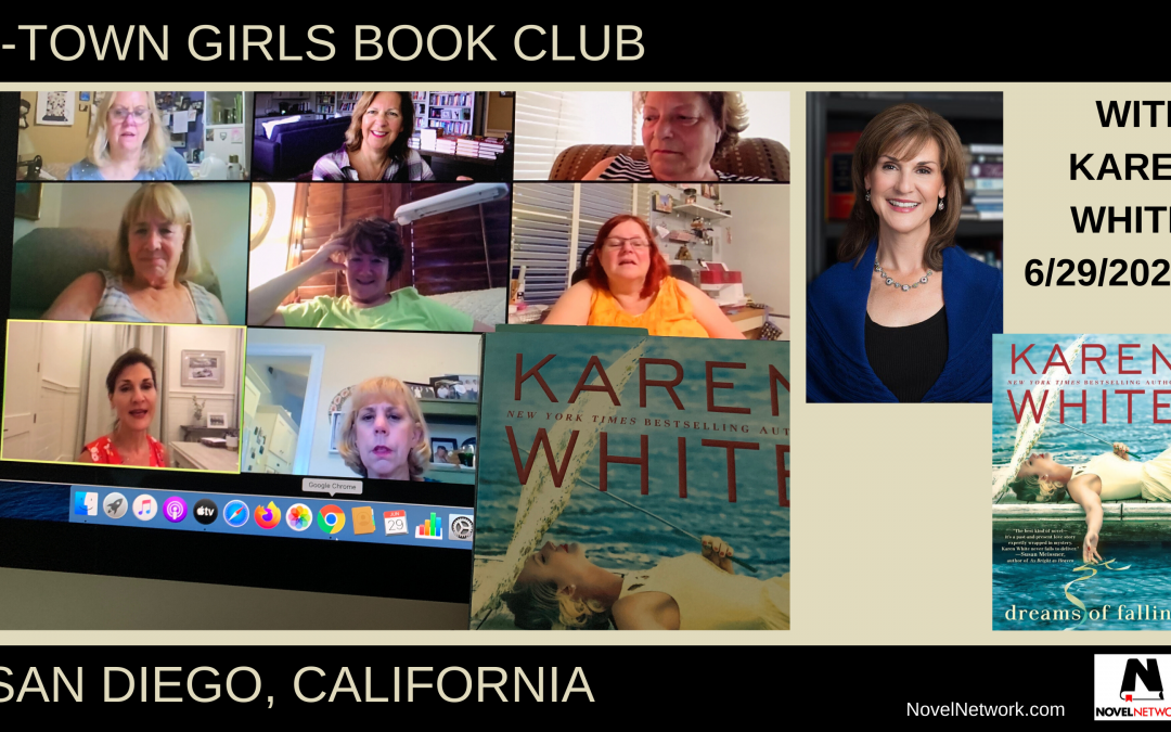 The T-Town Girls Book Club is Enthralled With Karen White