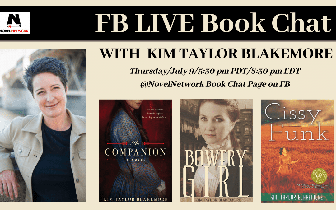 FB Live Book Chat With Kim Taylor Blakemore