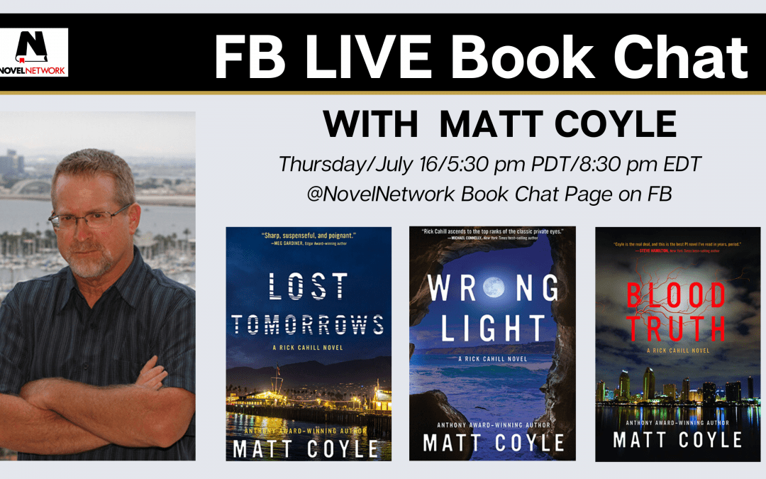 FB Live Book Chat With Matt Coyle