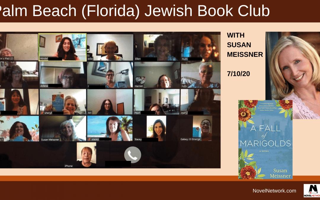 Palm Beach Jewish Book Club Talks Scarves With Susan Meissner