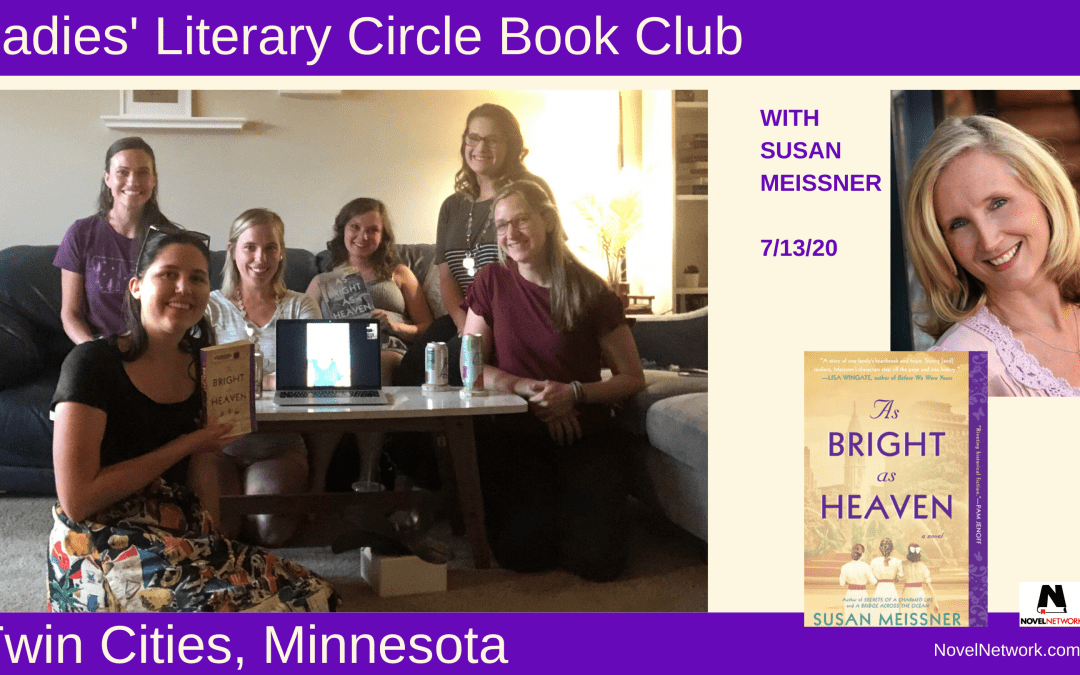 Ladies Literary Circle Book Club Discusses a Very Timely Story With Susan Meissner