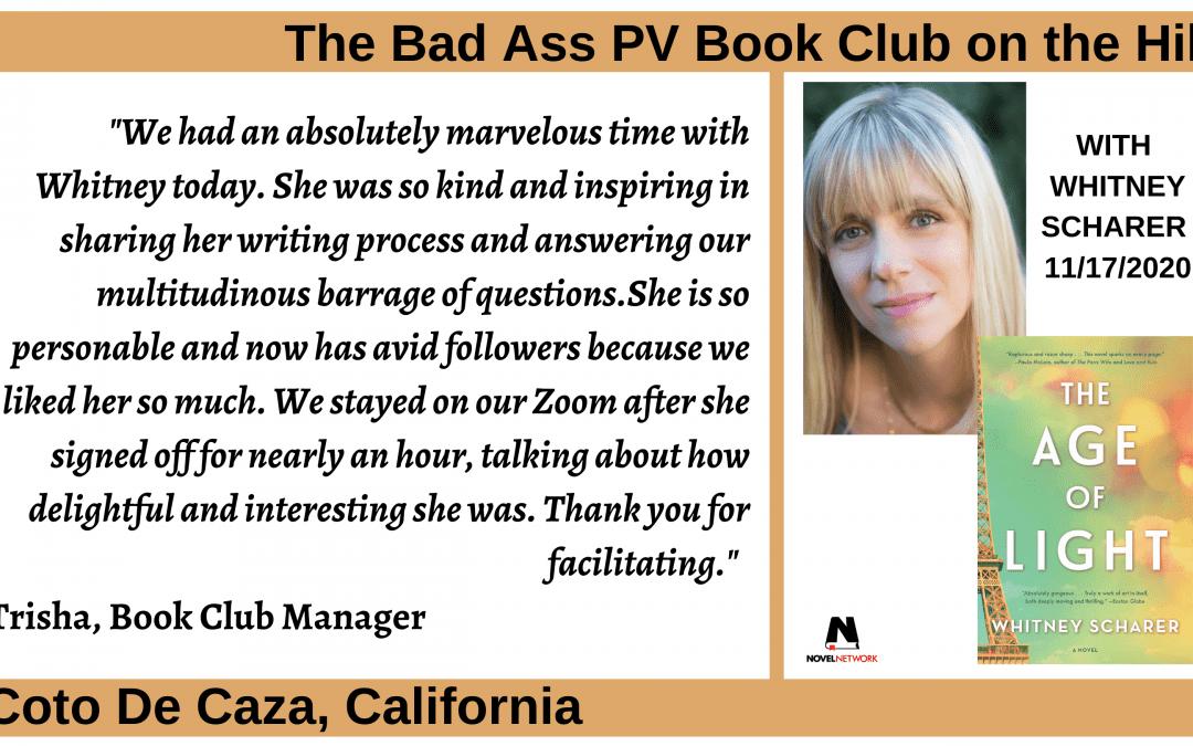 Why Book Club Meetings Often Run Long – Reason #42!