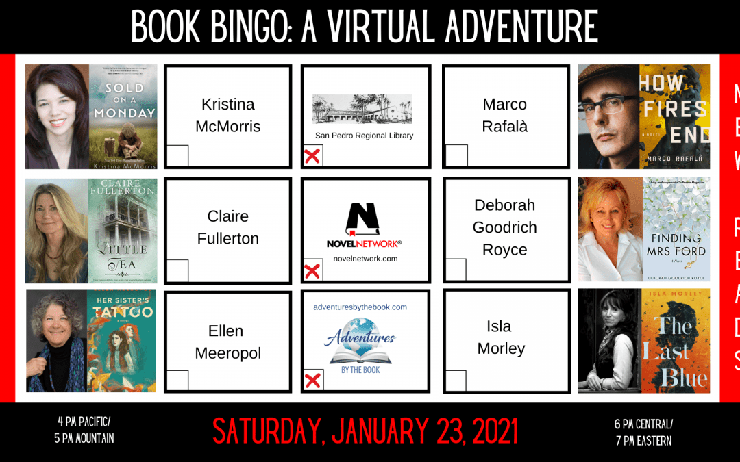 Book Bingo January 2021: A Virtual Adventure by the Book
