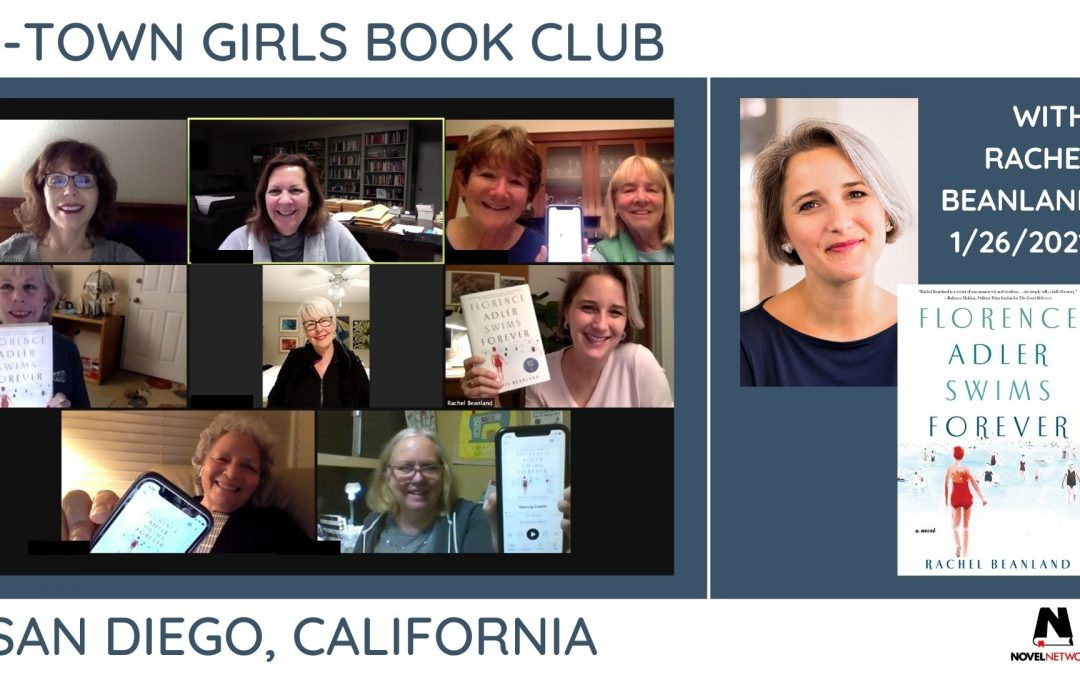 A Book Club Visit to Last Forever with Rachel Beanland