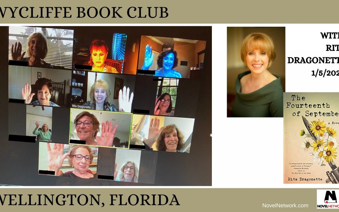 The First Official Book Club/Author Connection of 2021!