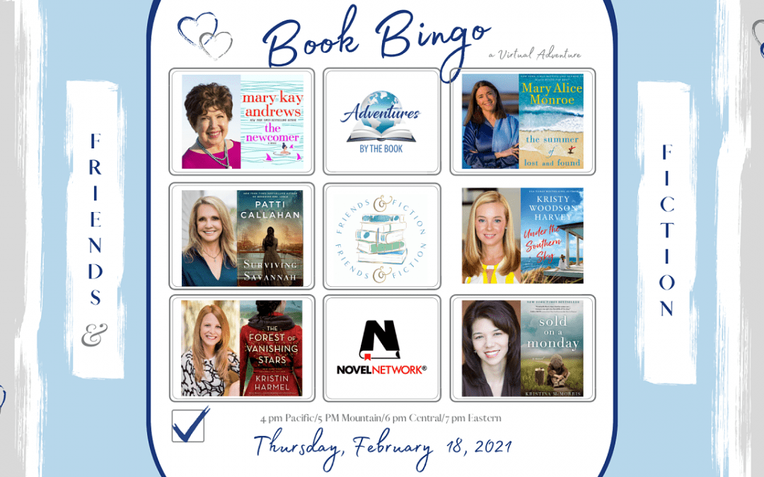 Book Bingo (Friends & Fiction): A Virtual Adventure by the Book