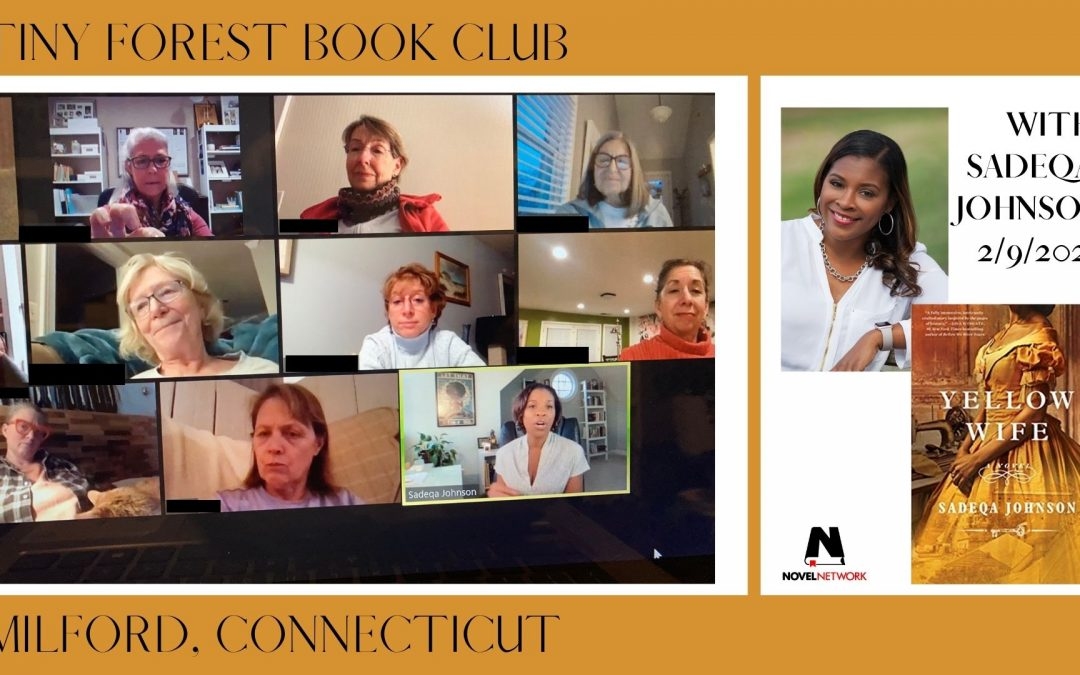 Sadeqa Johnson Wows This Book Club!