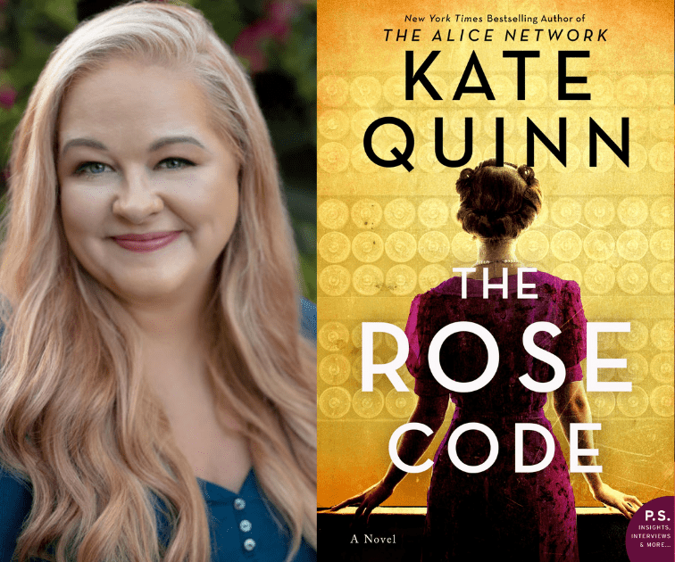 Kate Quinn – New York Times and USA Today Bestselling Author