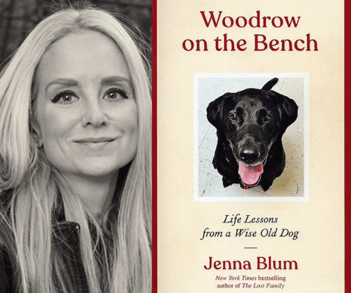 Woodrow on the Bench: Life Lessons from a Wise Old Dog by Jenna Blum